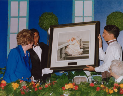 Painting presented to Margaret Thatcher